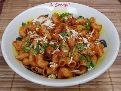 Macaroni in Tomato Sauce