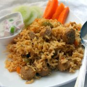 Soya Vegetable Biryani