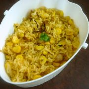 Sweet Corn Chat Rice