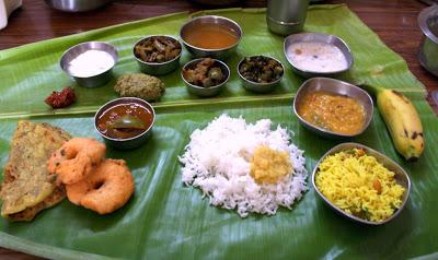Andhra Thali Menu
