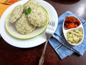 Sprouted Moong Dal Idli