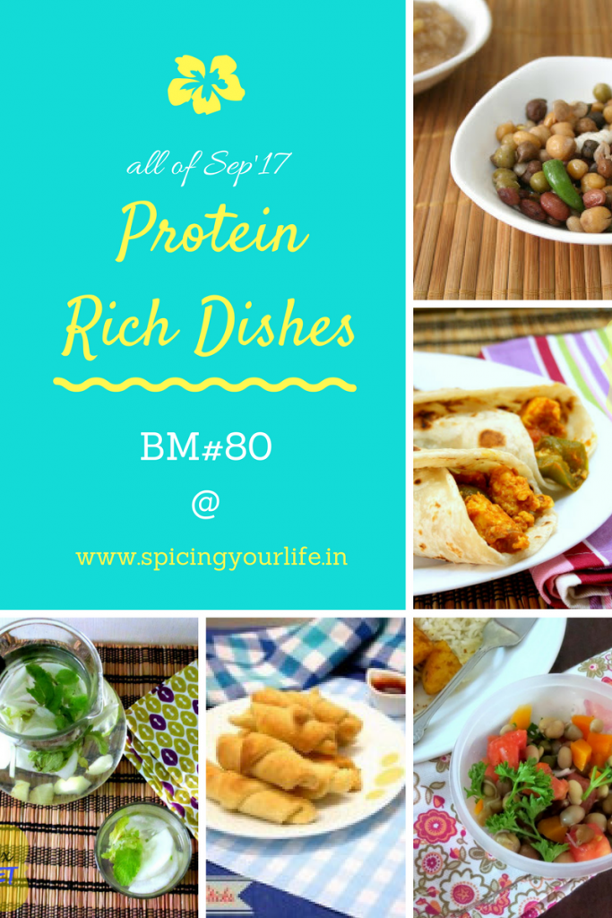 Protein Rich Dishes Marathon collage