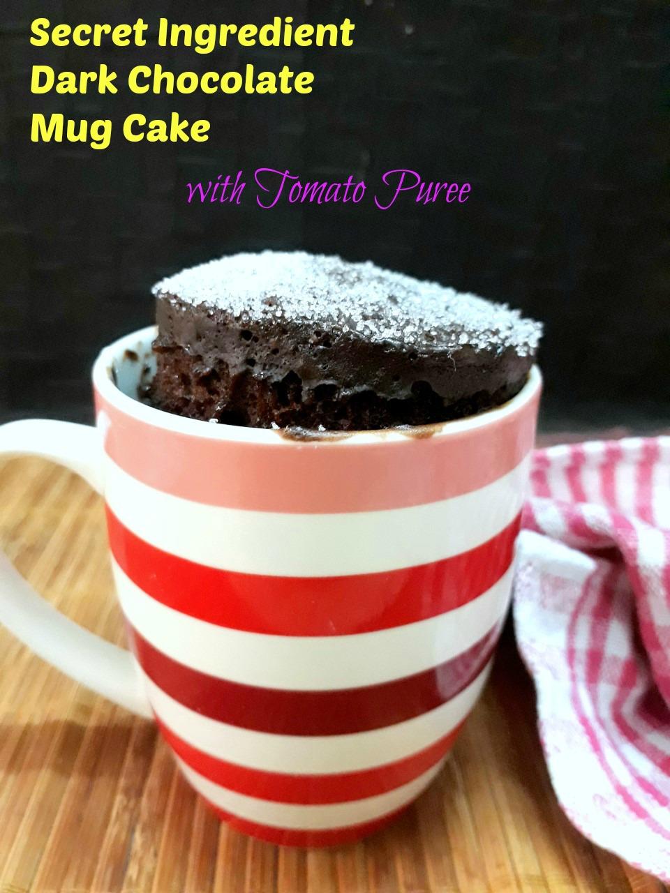 Secret Ingredient Chocolate Mug Cake