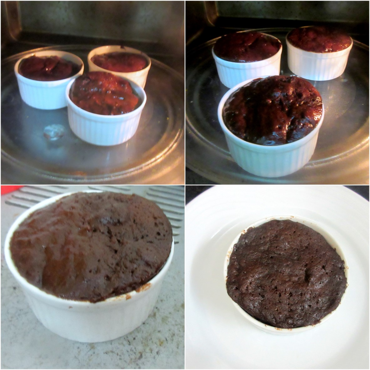How to make Stuffed Nutella Chocolate Mug Cake 4
