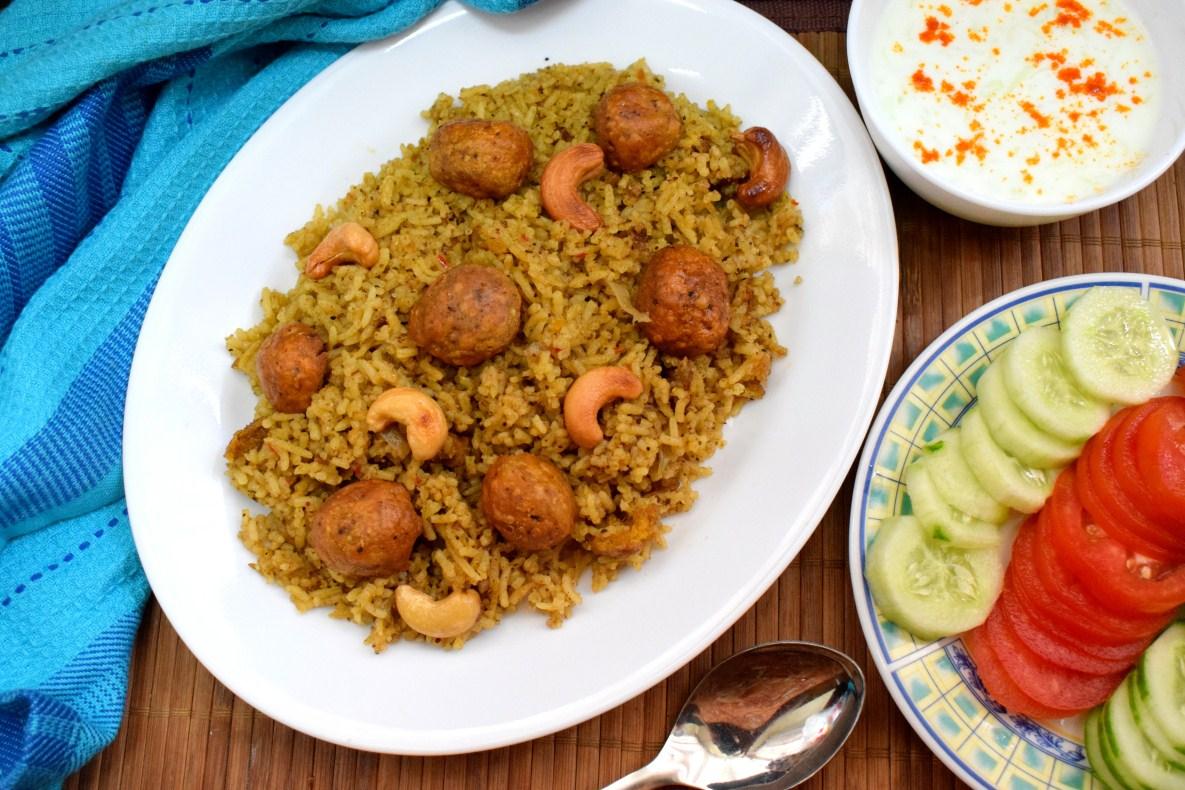 Maharashtrian Vegetarian Goli Bhaat