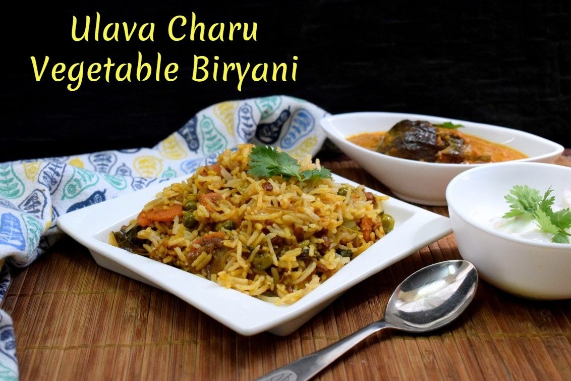 Ulava Charu Vegetable Biryani