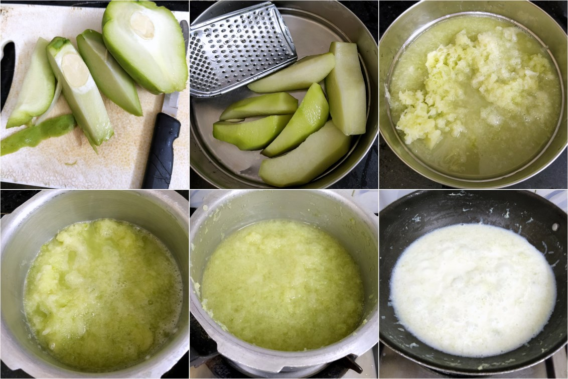 How to make Chow Chow Halwa 1