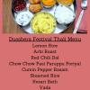 Dusshera Festival Thali