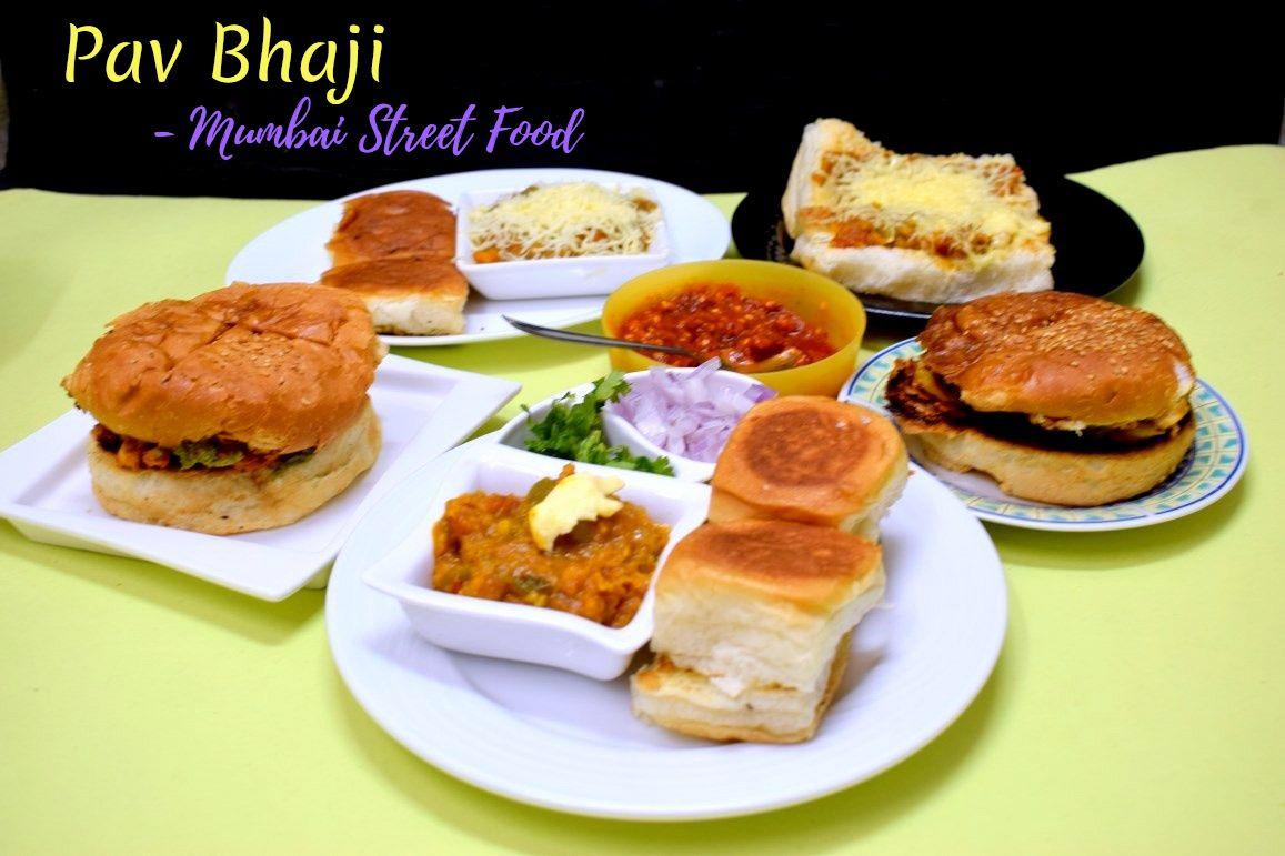 Mumbai Street Food - Pav Bhaji