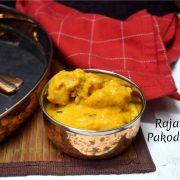 Rajasthani Pakoda Kadhi
